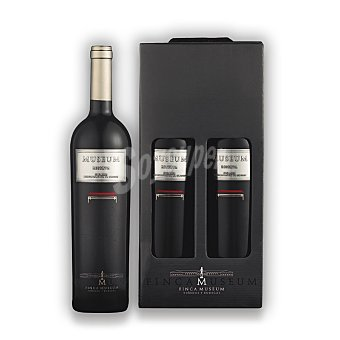 """Museum Lote 89: Estuche de vino D.O. """"cigales"""" tinto reserva Pack 2x75 cl"""