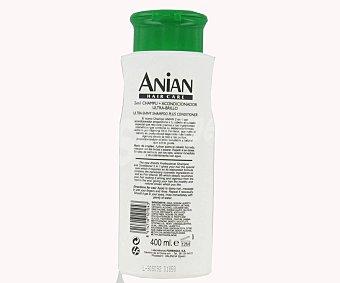 Anian Champú Ultra Brillo 2 en 1 400 Mililitros