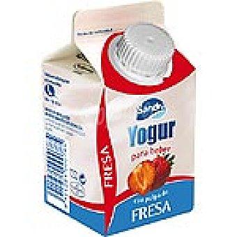 Sandra Yogur líquido con pulpa de fresas Envase 250 g