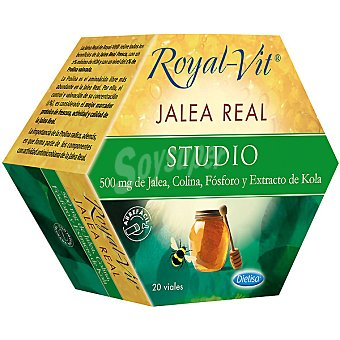 Royal-vit Jalea real studio estuche 20 ampollas