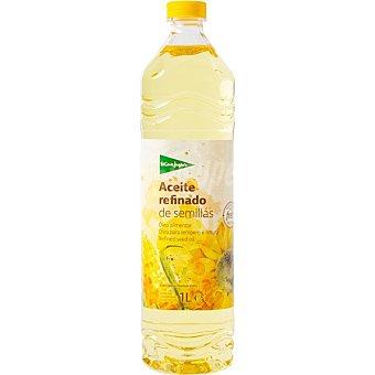 El Corte Inglés aceite refinado de semillas especial para freir botella  1 l