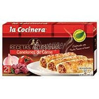 La Cocinera Canelones de carne Caja 530 g
