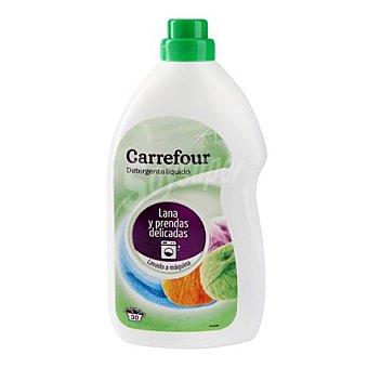 Carrefour Detergente líquido prendas delicadas lavado a maquina 30 lavados