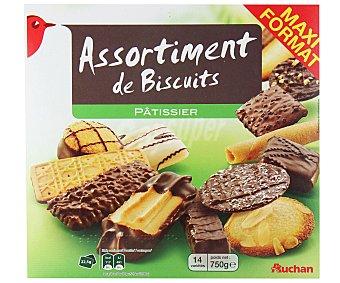 Auchan Surtido de galletas 750 gramos
