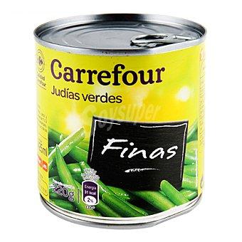 Carrefour Judías verdes finas al natural extra 220 g