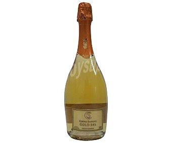 Cuevas santoyo Vino espumoso gran reserva gold 24 K Botella de 75 cl