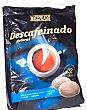 Cafe capsula (compatible con cafetera sistema senseo) expresso descafeinado Paquete 32 u Hacendado
