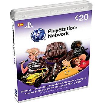 PS VITA Tarjeta Live Card 20 euros para PS3/PSP/