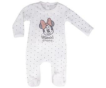 Disney Pijama pelele para bebé Minnie Mouse, talla 86.