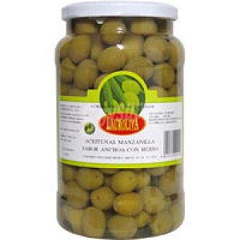Lauroliva Aceitunas manzan. sabor anchoa con hueso Tarro 800 g