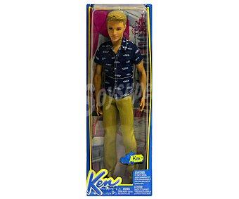 Barbie Muñeco Ken Fashionista con 9 Puntos de Articulación 1 Unidad