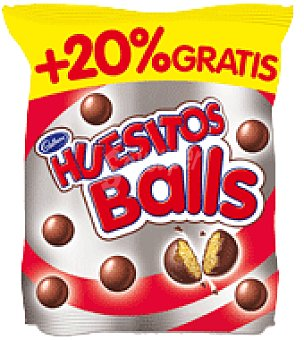 Huesitos Valor Huesitos balls Bolsa 145 g + 20%