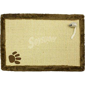 Arquivet Rascador para gato con forma de alfombra medidas 55 x 35 cm 1 unidad