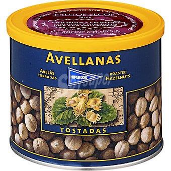 HIPERCOR avellanas tostadas lata 280 g