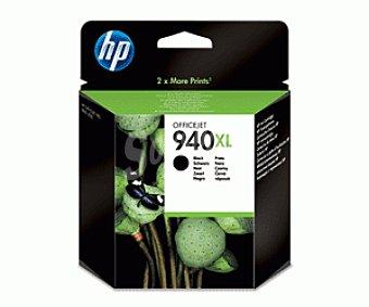 HP Cartuchos de Tinta 940XL Negro HP (C4906A) Gran Capacidad 1 Unidad- Compatible con: Impresoras HP Officejet Pro 8000, impresoras multifunción 1 Unidad