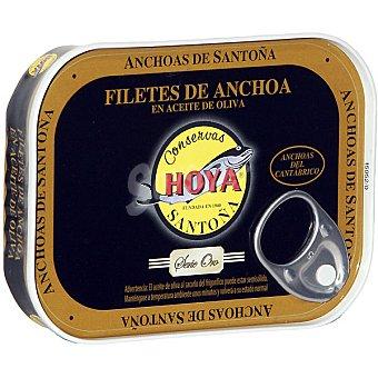 Hoya serie oro Filetes de anchoa del Cantábrico en aceite de oliva Lata 29 g neto escurrido