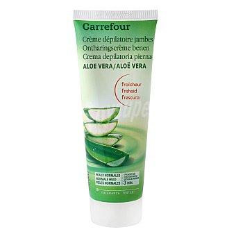 Carrefour Crema depilatoria con aloe vera pieles normales 200 ml 200 ml