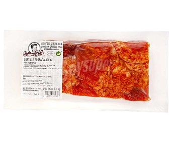SEÑORA JULIA Costilla de cerdo adobada, sin gluten y sin lactosa, envasada al vacio 300 g