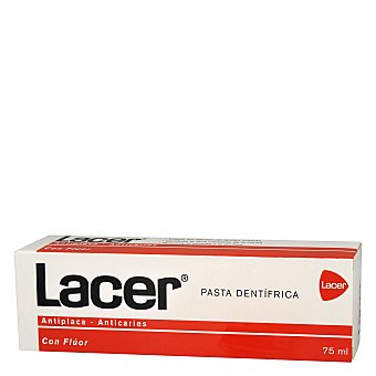 Lacer Pasta dentífrico fluor Tubo 75 ml