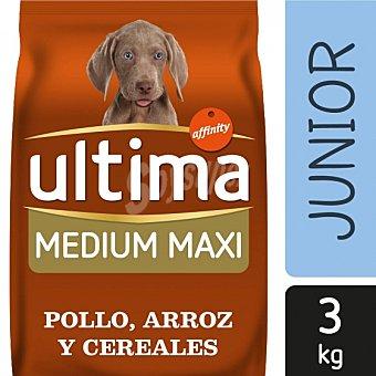 ultima Pienso para Perro Cachorros Medium - Maxi Sabor Pollo y Arroz 3kg 3 kg