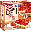 Cheesecake tarta de queso y fresas 6 raciones estuche 600 g Estuche 600 g My Sweet Deli Dr. Oetker