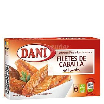 Dani Filetes de caballa en tomate Dani 75 g