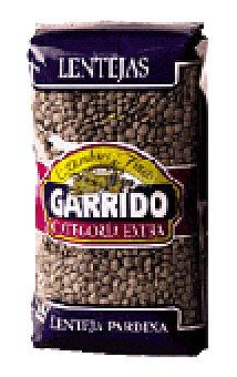 Garrido Lenteja pardina Paquete 500 g