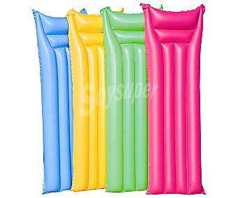 SNC Colchoneta hinchable de divertidos colores y de 183x69 centímetros 1 unidad