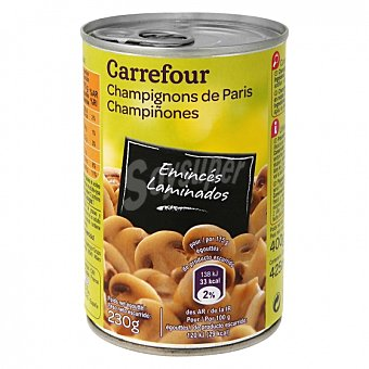Carrefour Champiñones laminados 230 G 230 g