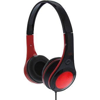 Tnb Auriculares de diadema en color negro y rojo 1 Unidad