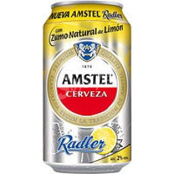 Amstel Cerveza radler de limón Lata 37,5 cl