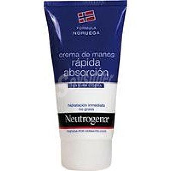 Neutrogena Crema de manos absorción rápida Pack 2x75 ml