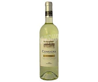 Félix Solís Consigna, vino blanco chardonnay de la tierra de Castilla Botella 75 cl