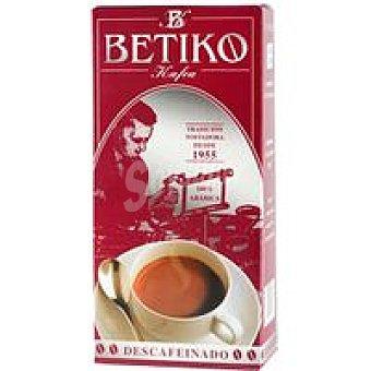 BETIKO KAFEA Café Descafeinado Molido Paquete 250 g