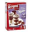 Creaciones mousse Milka Caja 166 g (6 raciones) Royal