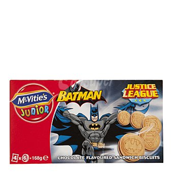 McVities Galletas superheroes 168 g