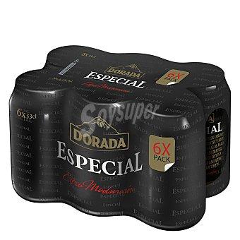 Dorada Cerveza rubia especial Lata pack 6 x 330 ml -1980 ml