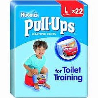Huggies Pull Ups niño Talla 6 Paquete 22 unid