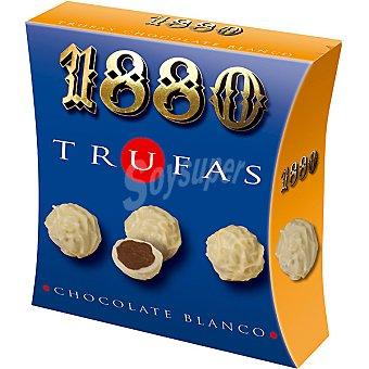 1880 Trufas de chocolate blanco Estuche 120 g
