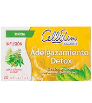 Juvamine Infusión adelgazamiento Detox en bolsitas Cellislim 20 ud