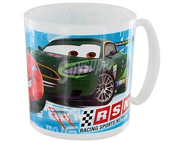 Disney Taza apta para microondas y lavavajillas con diseño de Cars Racing Sport Network, modelo Kids 1 Unidad