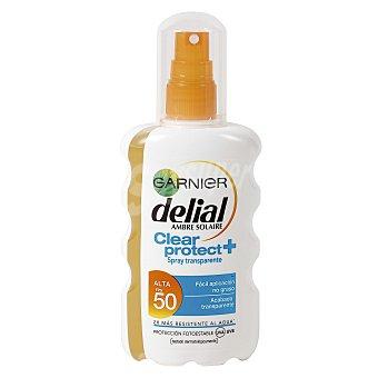 Delial Garnier Spray solar fp 50 clear protect 200 ml