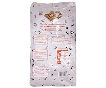 Auchan Comida Seca para Perro: Croquetas Saco de 15 Kilogramos