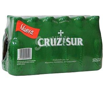 Cruz del Sur Cerveza Pack de 24 Unidades de 25 Centilitros