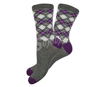 33 thirty three  pares de calcetines de mujer, color fantasía, talla 36/38 Pack de 2