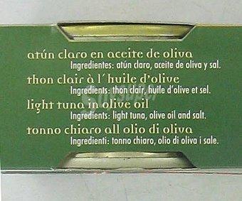 Orbe Atún claro en aceite de oliva Pack de 3 unidades de 52 gramos