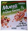 CEREAL MUESLI CRUJIENTE FRUTOS SECOS CAJA 500 g Hacendado