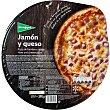 pizza de jamón y queso envase 390 g El Corte Inglés