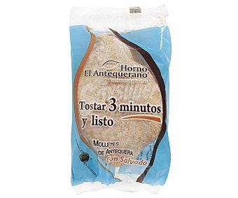 El antequerano Mollete de Antequera con salvado 220 g (2 uds)