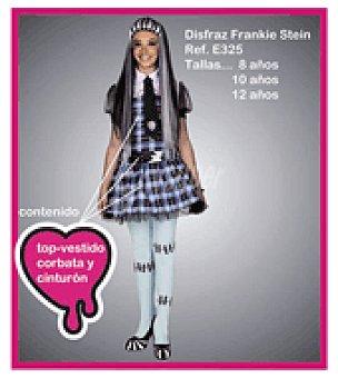 Disfraz frankie stein percha y bolsa T/4, (disfraz con falda + cinturón).